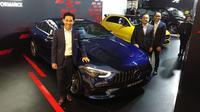 PT Mercedes-Benz Distribution Indonesia (MBDI) meluncurkan lima produk terbaru sekaligus sebagai pembuka acara Mercedes-Benz Star Drive. (Septian / Liputan6.com)
