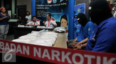 BNN Gagalkan Ayah dan Anak Penyelundup Narkoba Asal Malaysia
