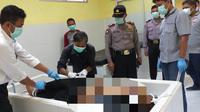 Napi narkotika di Lapas Kelas IIA Permisan, Nusakambangan, Taufik Imam meninggal dunia, Senin dinihari di RSUD Cilacap. (Foto: Liputan6.com/Polres Cilacap/Muhamad Ridlo)