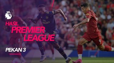 Berita video hasil Premier League 2019-2020 pekan ke-3. Liverpool bungkam Arenal 3-1 di Anfield, Liverpool.