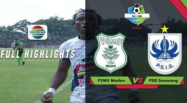 PSIS Semarang menang dramatis atas PSMS Medan dengan skor 2-3 dalam lanjutan Gojek Liga 1 2018 bersama Bukalapak, Rabu (12/9/2018).