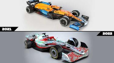 Mobil Formula 1 2022 tampil dengan dinamis namun tetap sarat aerodinamika (F1)