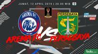 Piala Presiden Arema FC Vs Persebaya Surabaya (Bola.com/Adreanus Titus)