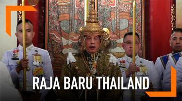Maha Vajiralongkorn resmi dinobatkan sebagai raja baru Thailand. Ia telah menjalani prosesi sakral di kompleks Grand Palace.