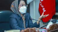 Ketua Fraksi PDI Perjuangan DPRD Jawa Timur Sri Untari Bisowarno. (Dian Kurniawan/Liputan6.com)