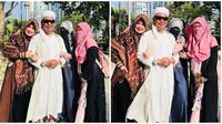 Momen Kebersamaan Ustaz Arifin Ilham dengan Ketiga Istrinya (sumber:Instagram/yuni_syahla_aceh)