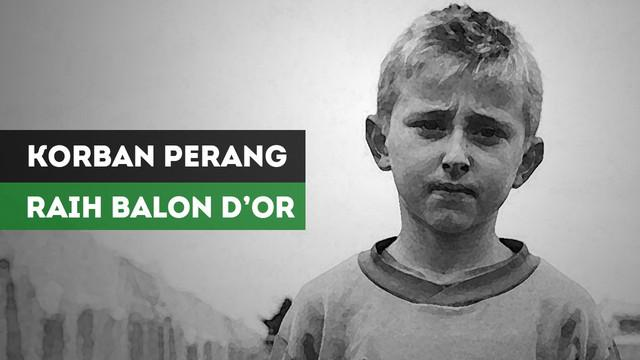 Berita video perjalanan Luka Modric yang pernah menjadi korban perang Balkan hingga raih Ballon d'Or 2018.