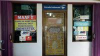 Salah satu agen di Pekanbaru tidak lagi menjual tiket penerbangan domestik.(Www.sulawesita.com)