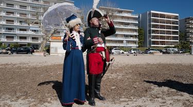 FOTO: Warga Prancis Peringati 200 Tahun Kematian Napoleon Bonaparte