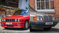 Mobil retro lansiran Eropa yang masih diburu