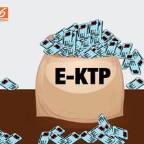 Banner E-KTP Tercecer (Liputan6.com/Triyasni)