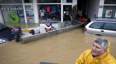 Banjir Serbia-Bosnia Seperti Tsunami, 20 Warga Meregang Nyawa