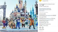 Disneyland Paris akan dimeriahkan dengan wahana baru yang bertema film Frozen. (Foto: Instagram @disneylandparis)