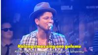 Video Parodi Bruno Mars Cover Lagu Didi Kempot Ini Kocak Banget (sumber: twitter.com/ridholabo)