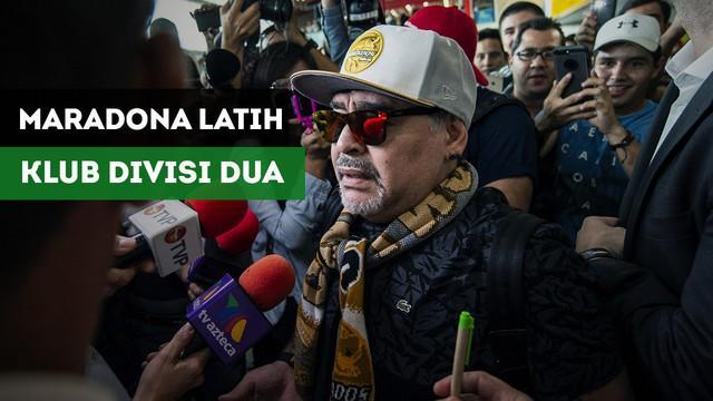 Berita Video Maradona Lanjutkan Karir Kepelatihan di Meksiko