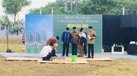 Jokowi hadiri peletakan batu pertama Menara MUI (Merdeka.com/Titin Supriyatin)