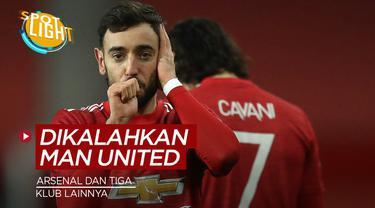 Berita video spotlight tentang empat klub di Premier League yang sering dikalahkan Manchester United.