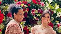 Sempat ramai tak direstui, Arie Kriting dan Indah Permatasari gelar pernikahan hari ini. (Sumber: Instagram/@lambe_turah)