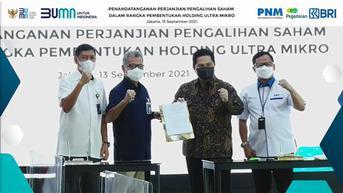 Dampak Holding BUMN Ultra Mikro Bagi Negara, Bisnis Perseroan dan Nasabah