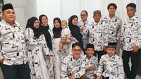 Momen Kumpul Keluarga Besar Lesty Kejora dan Rikzy Billar. (Sumber: Instagram.com/ayah_kejora)