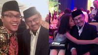 BJ Habibie dan cucu (Sumber: Instagram/archiewirija/tifanihabs)