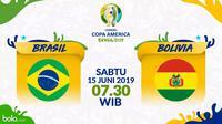 Copa America 2019 - Brasil Vs Bolivia (Bola.com/Adreanus Titus)
