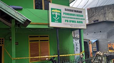Sekretariat PB IPMIL dilempari bom molotov oleh dua pria. Misterius (Liputan6.com/Fauzan)