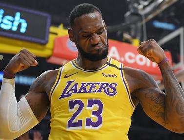 LA Lakers Bungkam New York Knicks