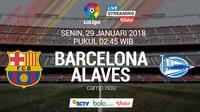 La Liga_Barcelona Vs Alaves (Bola.com/Adreanus Titus)