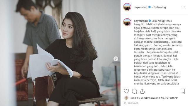 Naysila Mirdad (Foto: Instagram/@naymirdad)
