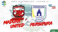 Liga 1 2018 Madura United Vs Persipura Jayapura (Bola.com/Adreanus Titus)
