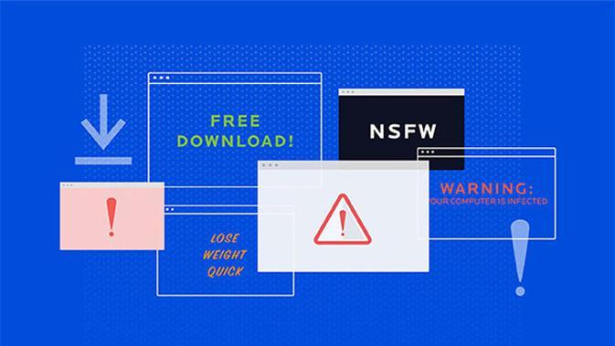 Ilustrasi adware di internet. (Doc: Malwarebytes)