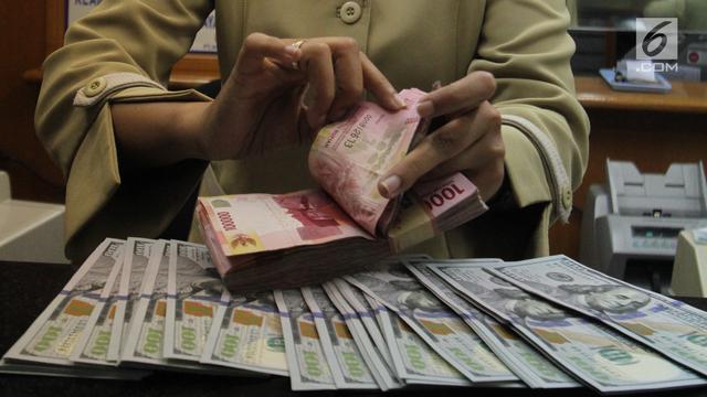 Nilai Tukar Rupiah Menguat Atas Dolar