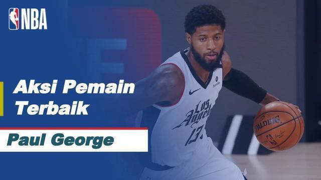 Berita Video 5 Aksi Terbaik Paul George di Babak Semifinal NBA Saat LA Clippers Kalahkan Denver Nuggets