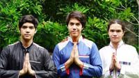 Al Ghazali, El Rumi, dan Dul Jaelani (Foto: Instagram)