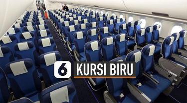 Traveler yang sering terbang naik pesawat mungkin pernah memperhatikan, sebagian besar kursi pesawat berwarna biru. Ada beberapa alasan mengapa kursi pesawat berwarna biru.