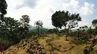 Gunung Padang, Cianjur, Jawa Barat. (Sumber Foto: biyanfariz/Instagram)
