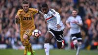 Bek kiri Fulham asal Inggris, Ryan Sessegnon. (AFP/Glyn Kirk)