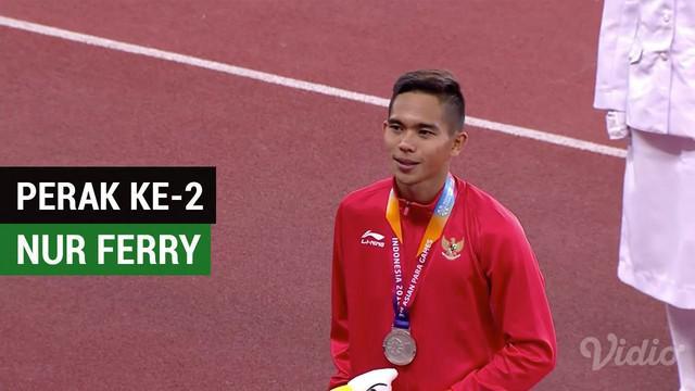 Berita video Nur Ferry Pradana berhasil mendapatkan perak ke-2 di Asian Para Games 2018 pada nomor 400m T47, Kamis (11/10/2018).