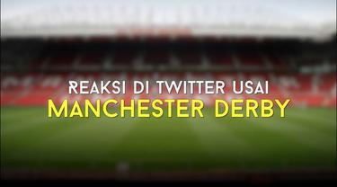 Video ragam reaksi para masyarakat terkait Manchester Derby yang berakhir 2-1 untuk kemenangan Man City