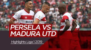 Berita video highlights Shopee Liga 1 2019 antara Persela Lamongan menghadapi Madura United yang berakhir dengan skor 1-5 di Stadion Surajaya, Lamongan, Jumat (17/5/2019).