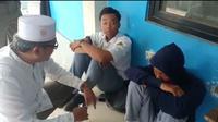 Dua pelajar SMK Negeri yang kedapatan teler di samping Gedung KNPI Kota Tangerang, dipastikan positif isap ganja sintetis atau tembakau gorila.