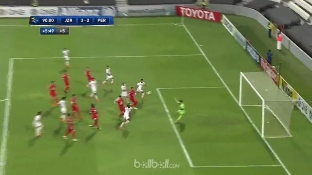 Ali Mabkhout menorehkan gol dan assist untuk membantu Al Jazira menang 3-2 di playoff Liga Champions Asia kontra Persepolis, dan b...