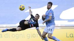 Bukan tanpa perlawanan, Sampdoria juga mencatatkan 10 tembakan tapi tidak ada yang mengarah ke gawang. (Foto: AP/LaPresse/Alfredo Falcone)