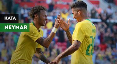 Apakah yang dikatakan oleh Neymar kepada Roberto Firmino usai mencetak gol kemenangan Liverpool?