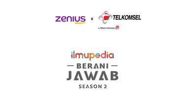 Kompetisi Ilmupedia Berani Jawab Season 2 hasil kolaborasi Telkomsel dan Zenius