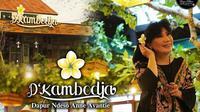 Desainer Anne Avantie resmi membuka rumah makan miliknya yang bernama D'Kambodja. (dok. Instagram @dkambodjaanneavantie/https://www.instagram.com/p/CNM1FpdH1xt/)