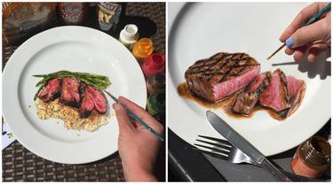 Tampak Nyata, 7 Lukisan Makanan di Atas Piring Bikin Makin Semangat Makan