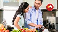 Meski dapur merupakan area untuk masak-memasak, desain interior dapur juga bisa disesuaikan dengan penggunanya.