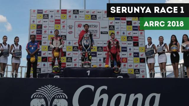 Berita Video Pebalap Astra Honda Menjaga Asa Raih yang Terbaik di ARRC 2018